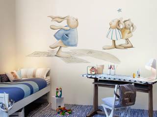 Pilar Burguet Mural ref 3400070: modern  by Paper Moon, Modern