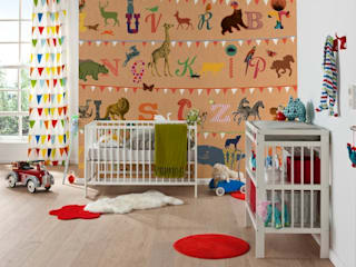 T-wie-Tiger Mural ref V5-782 Paper Moon Walls & flooringWallpaper