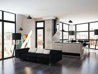 APRIL DESIGN Industrial style kitchen
