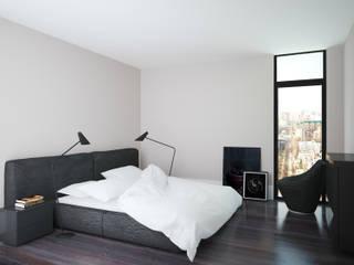 APRIL DESIGN Industrial style bedroom
