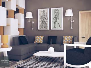 Living room by Bledi Skora Design