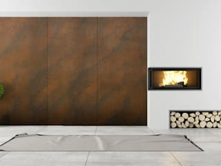 RUST STYLE - Sistema Decorativo Effetto COR-TEN di SPIVER - ARTHE Decorative Line Moderno