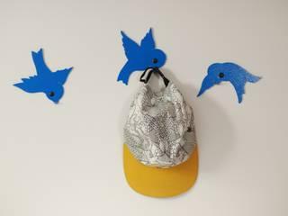 wieszak Ptaki 2: styl , w kategorii  zaprojektowany przez Longart,