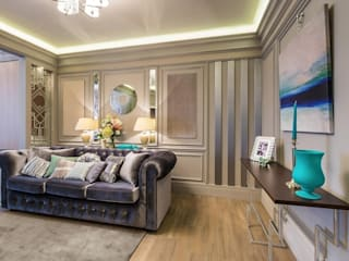 Tony House Interior Design & Decoration Ruang Keluarga Modern
