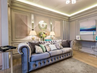 Salon moderne par Tony House Interior Design & Decoration Moderne
