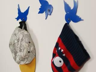 Wieszak Ptaki 1: styl , w kategorii  zaprojektowany przez Longart,