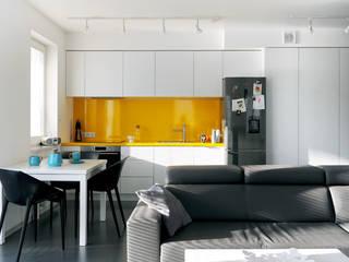 Mieszkanie Bażantowo: styl , w kategorii Kuchnia zaprojektowany przez musk collective design,