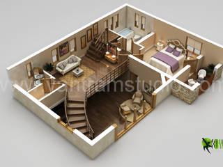 3D Floor Plan Design Yantram Architectural Design Studio