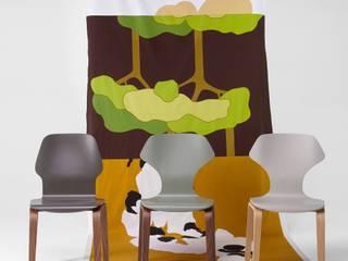 Ginger & Fred chairs per Caon arreda:  in stile  di Luciano Bertoncini