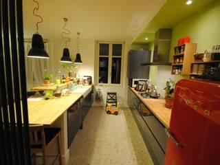 APPART1 - CUISINE: Cuisine de style  par Architecture 3j