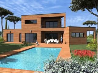 Modèle de maison contemporaine DAKOTA: Maisons de style de style Moderne par Construire Online