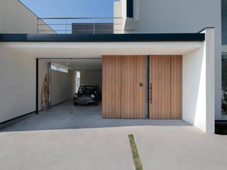 Casas modernas de 河崎建築計画事務所 Moderno