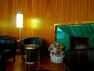 Fumoir Hotel Waldhaus:  Hotels von Frédéric Dedelley Product Designer ACCD(E),Modern