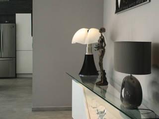Maison C² -  Aménagement intérieur: Salon de style de style Minimaliste par Interlude Architecture