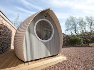 Office Pods: scandinavian  by Armadilla Pods, Scandinavian