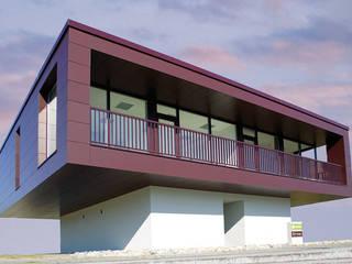 Quartier Alter Hafen, Wismar, Aussenansicht:  Bürogebäude von Bartsch Design GmbH