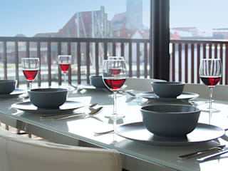 Quartier Alter Hafen, Wismar, Wohnzimmer:  Hotels von Bartsch Design GmbH