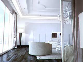 Bedroom 3D Render&Beyond Modern style bedroom