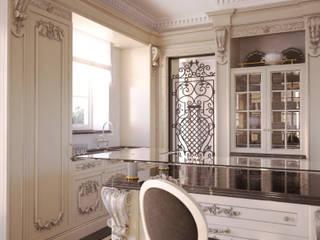Kitchen 3D Render&Beyond Classic style kitchen