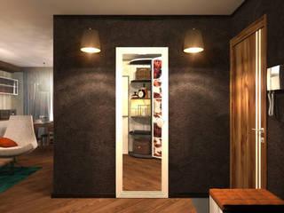 Тайная дверь Коридор, прихожая и лестница в скандинавском стиле от Inna Katyrina & 'A-LITTLE-GREEN' studio interiors Скандинавский