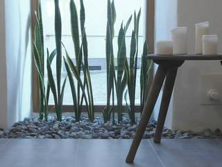 Baños de estilo ecléctico de Junghanns + Müller Architekten Ecléctico