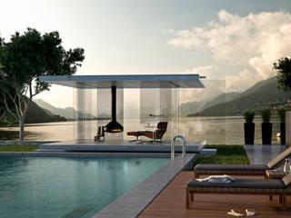 Modern garden by Glas Marte Modern