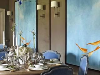 Таунхаус в Подмосковье: Столовые комнаты в . Автор – Chdecoration,
