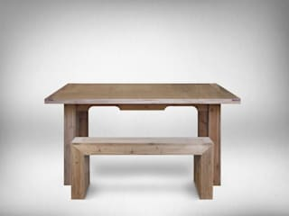 Table et Banc GlossyWood:  de style  par Quelea