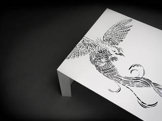 Paradise Table • Salontafel • White - • coffee table :   door ontwerpstudio Roi de Bruijn
