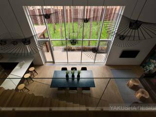 Дом-куб: Гостиная в . Автор – Yakusha Design