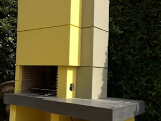 Jardins modernos por Fazzone camini Moderno