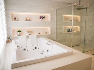 de Joana & Manoela Arquitetura Moderno