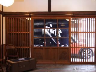 神ノ前アトリエ アジア・和風の 窓&ドア の 田中博昭建築設計室 和風