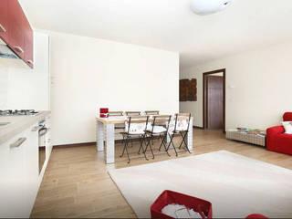 Ristrutturazione interna abitazione di AMA_studio Moderno