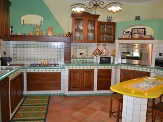 Cocinas de estilo rústico de Fazzone camini Rústico