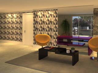 Edifício Connect | CKS Incorporações Corredores, halls e escadas modernos por Monte Arquitetura Moderno