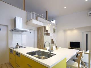 キッチン: 那波建築設計 NABA architectsが手掛けたキッチンです。