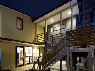 大橋の家 モダンな 家 の 那波建築設計 NABA architects モダン
