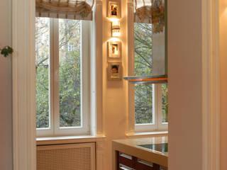 Projekt wnętrz apartamentu, kompleksowe wykonawstwo Klasyczna kuchnia od Anna Buczny PROJEKTOWANIE WNĘTRZ Klasyczny