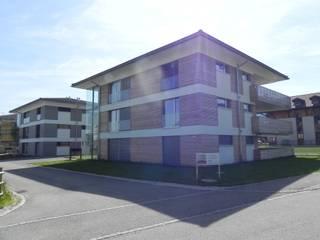 Aussenansîcht : industriale Häuser von Mäder + Luder Architekten AG