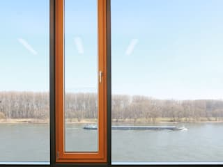 Glas Marte Bangunan Kantor Modern