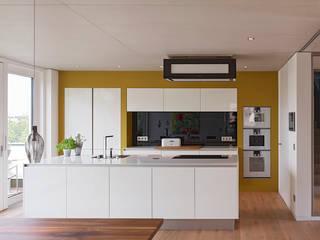 Modern kitchen by AMP Architekten Modern