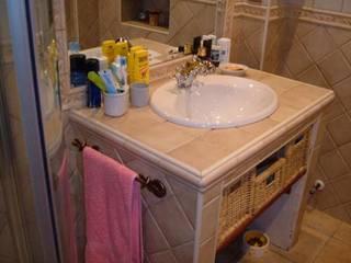 Rustic style bathroom by REFORMAS ROYMA Rustic