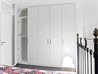 schrankwerk.de RecámarasArmarios y cómodas Derivados de madera Blanco