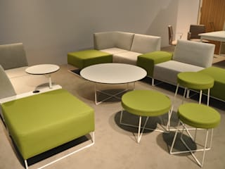Diseño stand Forma5. Orgatec 2014 Diseño de ferias de estilo mediterráneo de Morgui Súnico Mediterráneo