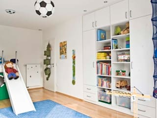 schrankwerk.de Nursery/kid's roomWardrobes & closets Engineered Wood White