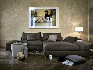 Sofá Moving de Arketipo: Salones de estilo  de XETAI ALTZARIAK