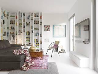 Mieszkanie na Biskupinie we Wrocławiu: styl , w kategorii  zaprojektowany przez Modelista