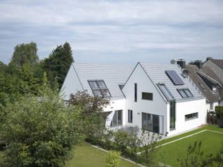 Ansicht vom Garten:  Häuser von Koschany + Zimmer Architekten KZA