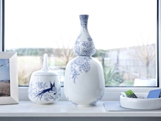BLUE D1653:   door Royal Delft